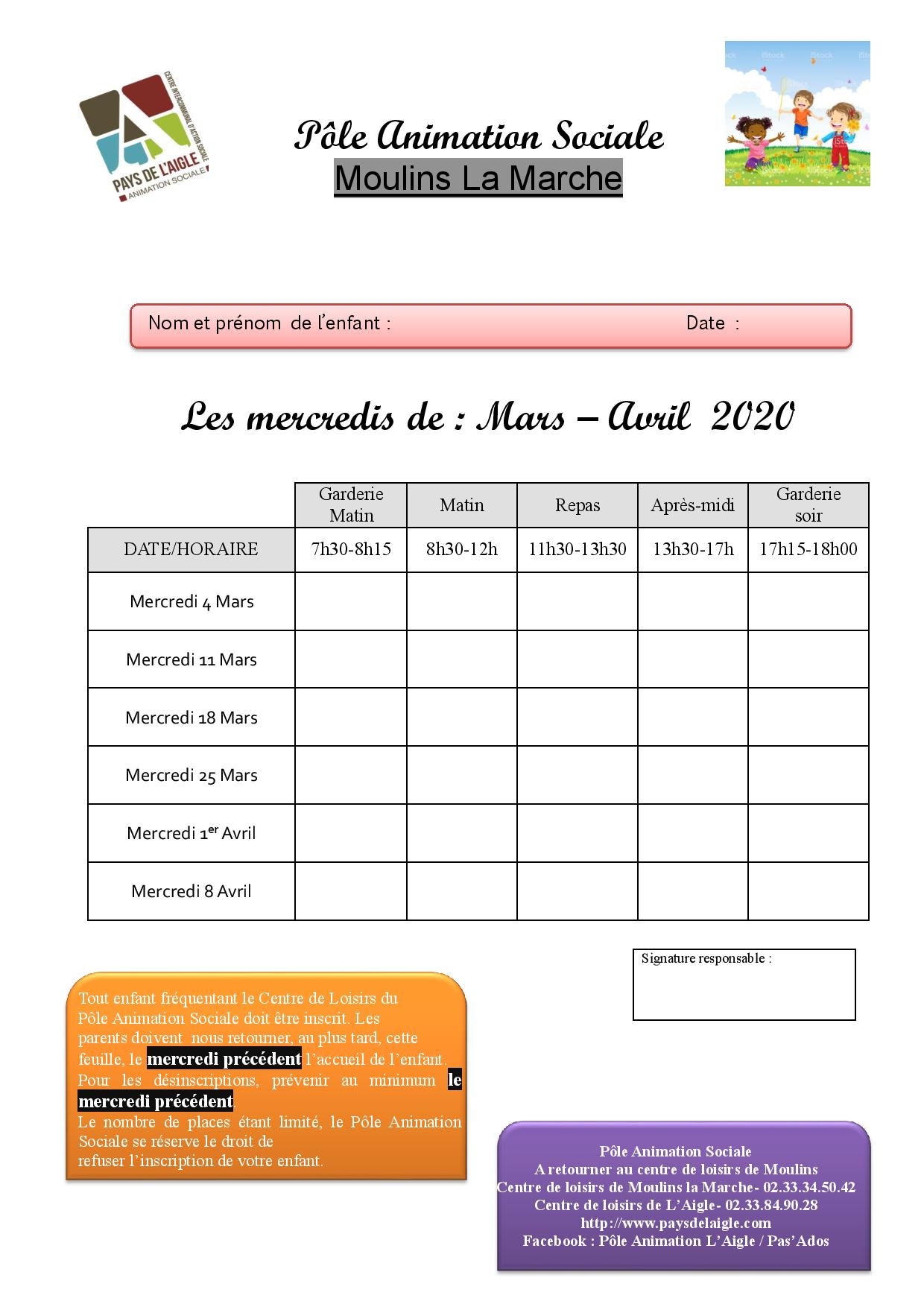 Feuille d inscription moulins mercredi mars avril 2020 page 001